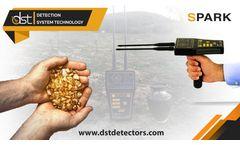 Gold Detector MWF Spark Long-range Locator