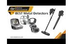 Best Gold and metal Detectors DST Showroom - Video