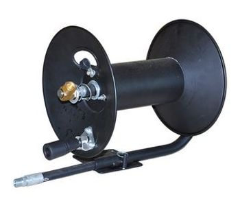 Junjie - Model PM - Lengthened Type Reelworks Hand Crank Air Compressor Hose Reel without Hose