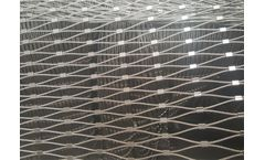 AISI 316 flexible stainless steel ferrule cable mesh