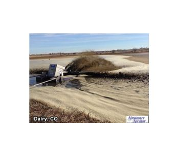 Airmaster Aerator - Model Turbo - Aerators for Industrial Wastewater Treatment
