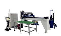 Shanjia - Model SJ-X303 - Two-component Foam Sealing Gasket Machine
