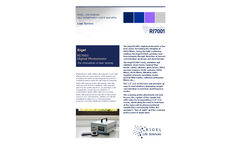 Rigel - Model RI7001 - Digital Photometer Brochure