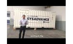 Sysadvance  | Containerized PSA Oxygen Generator  Iceland Video