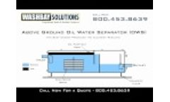Above Ground Oil Water Separator (OWS) Video