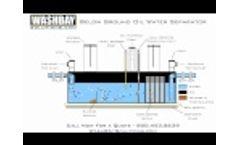 Below Ground Oil Water Separator Video