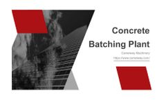 Camelway - Dry Concrete Batching Plant - Brochure