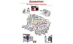 Engine & Exhaust Emissions - Brochure