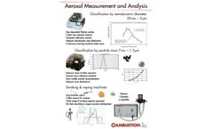 Cambustion - Aerosol Measurement and Analysis - Brochure
