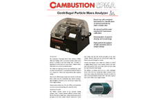 Cambustion - Centrifugal Particle Mass Analyzer Brochure