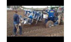 Double row 001 earthwork plow Video