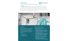 ATI - Model FAR-PASS - Automated Air Sample Collection & Delivery System Brochure