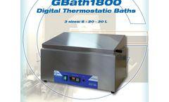 GBath - Model 1800 - Digital Thermostatic Bath