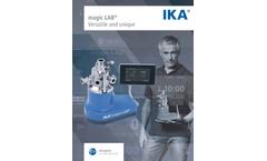 magic LAB - Unique and Multi-Functional Small-Scale Laboratory Machine - Brochure