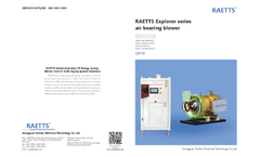 Raetts - Air Foil Bearing Turbo Blower Brochure