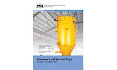 Pure-Filtration - Vertical / Horizontal Pressure Leaf Filters Brochure