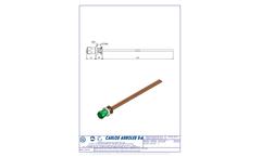 Carlos Arboles - Model 1701 - Front Control Valve Brochure