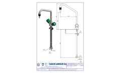 Carlos Arboles - Model 116 - Monobloc Mixer Tap Brochure