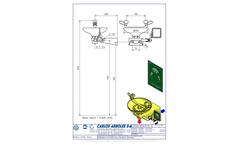 Carlos Arboles - Model 2210 - Wall Eyewash Brochure
