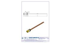 Carlos Arboles - Model 1703 - Front Control Valve Brochure