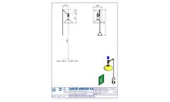 Carlos Arboles - Model 1100 - Vertical Shower Brochure