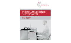 Edinburgh - Model FLS1000 - Photoluminescence Spectrometer Brochure