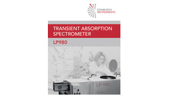 Edinburgh - Model LP980 - Spectrometer Brochure