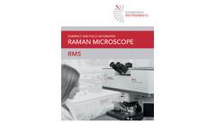 Edinburgh - Model RM5 - Raman Microscope Brochure
