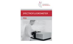 Edinburgh - Model FS5 - Spectrofluorometer Brochure
