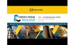 Dust-a-side Electra Mining Expo 2018 Highlights Video
