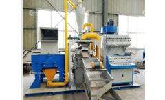 Suny - Model ZY-TMJ - Cable Wire Recycling Machine