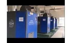 Turbo blower ZCJSD for SINOMA cement plant Video