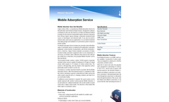 Mobile Adsorber Brochure