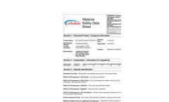Bitumastic - 300 LH - High Build Coal Tar MSDS Datasheet