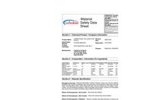 Carbothane - 130 - Clear Coat MSDS Datasheet