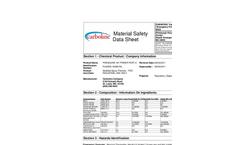 Phenoline - 187 - Highly Cross-Linked Primer MSDS Datasheet