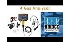 4 Gas Analyzer (Exhaust Gas Analyzer) Video