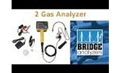 2 Gas Analyzer (Exhaust Gas Analyzer) Video