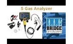 5 Gas Analyzer (Exhaust Gas Analyzer) Video