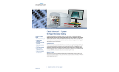 Celsis Advance - Model II - Rapid Microbial Detection Methods System (RMMs) Brochure
