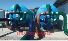 Pressure Sand Filter & Water Softener/ فیلتر شنی و سختی گیر