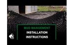 How to Install RAMM Mud Management Panels – Fix Your Muddy Paddocks & Entryways! Video