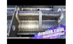 Dewatering Rendering Plant DAF Sludge Video