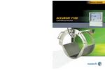 ACCURON 7100 Permanent Single Range Open Channel Cartridge Meters Brochure