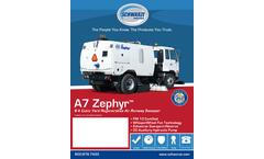 Schwarze - Model GS6 - Regenerative Tempest Airport Sweeper Brochure