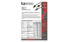 KA-Sensors - Model NTC2 - Air & Gas Temperature Sensor Brochure