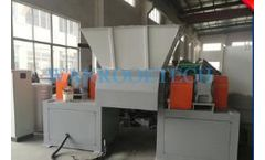 Wanrooe - Model PNDS - Double Single Shaft Shredder Machine
