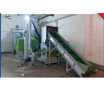 Wanrooe - Model PNCR - Cable Recycling Cable Granulator Machine