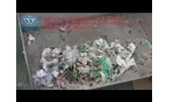 Medical Waste Shredder Machine, Hospital Biohazard Management Treatment Systems with Autoclave Video