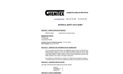 Simple Green All Purpose Cleaner MSDS